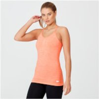Shape Seamless Vest - L - Light Coral Marl
