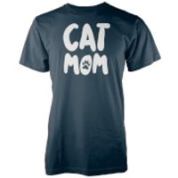 Cat MOM Navy T-Shirt - XL - Navy