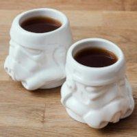 Original Stormtrooper Espresso Mug Set - White