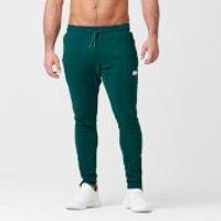 Tru-Fit Zip Joggers - M - Dark Green