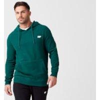 Tru-Fit Pullover Hoodie - M - Dark Green