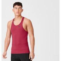 Myprotein Dry Tech Stringer Vest - S - Dark Red