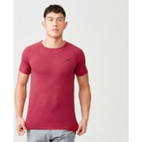 Myprotein Dry Tech Infinity T-Shirt - XXL - Deep Red
