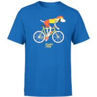 Leader Of The Pack Men's Blue T-Shirt - XXL - Blue