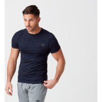 Sculpt Seamless T-Shirt - S - Navy