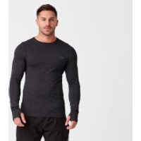 Sculpt Seamless Long Sleeve T-Shirt - Black - S - Black