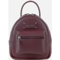 Grafea Womens Mini Zippy Backpack - Burgundy