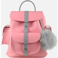 grafea-women-peony-leather-backpack-pink