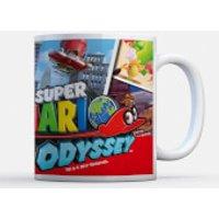 Taza Nintendo Super Mario Odyssey Cappy