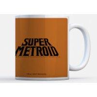 Taza Navidad Nintendo  Super Metroid Power Suit