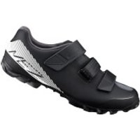 Shimano ME2 MTB Shoes - Black/White - UK 2.5/EU 36 - Black/White