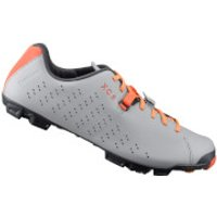 Shimano XC5 MTB Shoes - Grey/Orange - EU 39 - Grey/Orange
