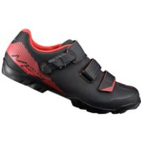 Shimano ME3 MTB Shoes - Black/Orange - Wide - UK 10.5/EU 46 - Black/Orange