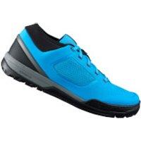 Shimano GR7 MTB Shoes - for Flat Pedals - Blue - EU 47 - Blue