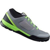 Shimano GR7 MTB Shoes - for Flat Pedals - Blue - EU 47 - Grey/Green