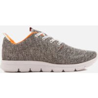 Superdry Men's Scuba Runner Trainers - Grey Grindle/White - UK 9 - Grey