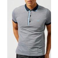 BOSS Green Mens Paule 4 Polo Shirt - Navy - S - Blue