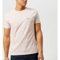 BOSS Green Mens Tee Small Logo T-Shirt - Pink - M - Pink