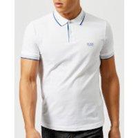 BOSS Green Mens Paul Polo Shirt - White - M - White