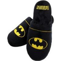 DC Comics Men's Batman Slippers - Black - L/UK 8-10 - Black - Batman Gifts