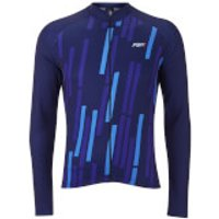PBK Vello Winter Roubaix Jersey - L - Blue