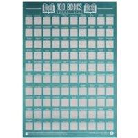 100 Books Bucket List Poster