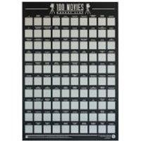 100 Movies Bucket List Poster