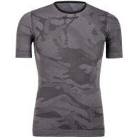 Santini Camo T-Shirt Baselayer - Grey - L-XL - Grey