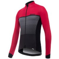 Santini Epic Winter Long Sleeve Jersey - Red - L - Red