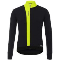 Santini Origine Winter Long Sleeve Jersey - Yellow - S - Yellow