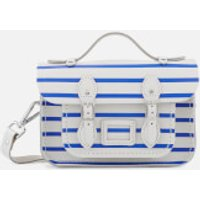 The Cambridge Satchel Company Womens Mini Satchel - Blue Breton Stripe/Clay