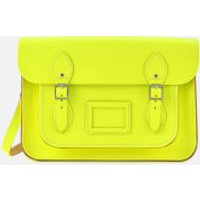 The Cambridge Satchel Company Womens 13 Inch Satchel - Fluoro Yellow