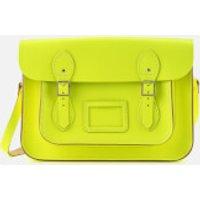 The Cambridge Satchel Company Womens 13 Inch Satchel - Fluoro Yellow/Nickel