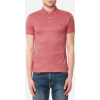 Polo Ralph Lauren Men's Short Sleeve Pima Polo Shirt - Salmon Heather - XXL - Pink