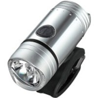 Guee SOL 200 Plus LED Front Light - Silver