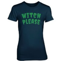Witch Please Women's Navy T-Shirt - XXL - Navy