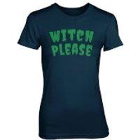 Witch Please Women's Navy T-Shirt - XXL - Navy