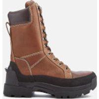 Hunter Mens Field Lace Up Tall Boots - Waxed Tan - UK 12 - Tan