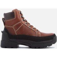 Hunter Mens Field Lace Up Boots - Waxed Tan - UK 12 - Tan