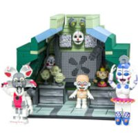 McFarlane Five Nights At Freddys Control Module Large Action Figure Set With Ballora And Jumpscare Funtime Foxy