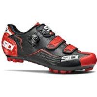 Sidi Trace MTB Shoes - Black/Red - EU 49 - Black/Red