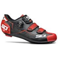 Sidi Alba Road Shoes - Black/Red - EU 41 - Black/Red