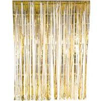 Glitterati Foil Curtain - Gold