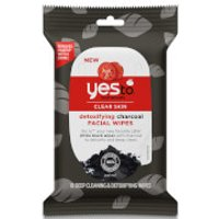 yes to Tomatoes Detoxifying Charcoal Wipes (Pack of 10)