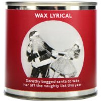 Wax Lyrical Enter-tin-ment Naughty List Wax Filled Candle - Candle Gifts