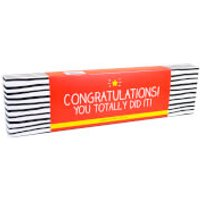 Happy Jackson Box of Assorted Chocolates - Congratulations! You Totally Did It! - Chocolates Gifts