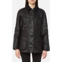 Barbour Womens Beadnell Wax Jacket - Black - UK 14 - Black