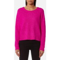 Samsoe & Samsoe Women's Nor O Neck Jumper - Pink - M - Pink