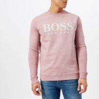 BOSS Orange Mens Walker Logo Sweatshirt - Pink - M - Pink