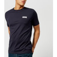 HUGO Mens Durned Crew Neck T-Shirt - Navy - S - Blue